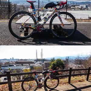 尾根緑道サイクリング
