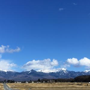 爽快な八ヶ岳ブルーの直下でいただくラクトオボベジごはん@「デザートムーン」