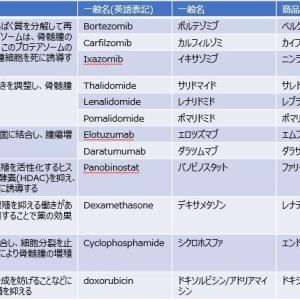多発性骨髄腫の治療法について(NCCNガイドラインを参考)