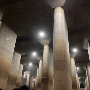 外郭放水路調圧水槽(地下神殿)