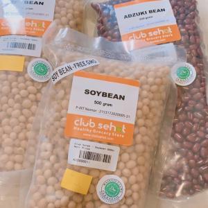オーガニック大豆と小豆が届いた!
