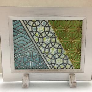 グラスアートステップアップセミナー 「幾何学模様を楽しむ」