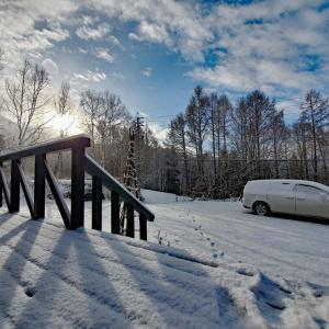 晴天の雪景色 ^^