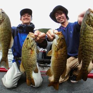 jpマスターズ第4戦ダイワcop2日目開催の中、仲田さんガイドでバス釣り~♪
