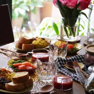 春休み子供と昼ごはん&おうちカフェな食器。