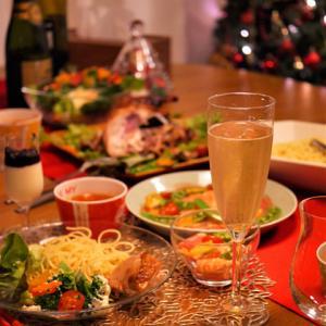 クリスマスのおうちごはん。