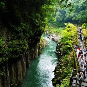 【夏休みの思い出】宮崎・高千穂峡へ。