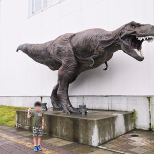【夏休みの思い出】恐竜博物館へ。