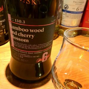 SMWS130.3 CHICHIBU 2011 6yo  1st Fill BARRIQUE/EX-PINOT NOIR Bamboo Wood and cherry blossom