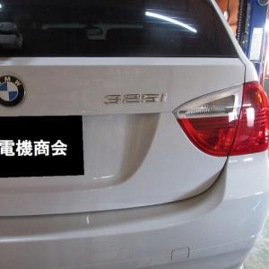 BMW「遅くてすみません・・・の巻 その4」バックカメラ取付け