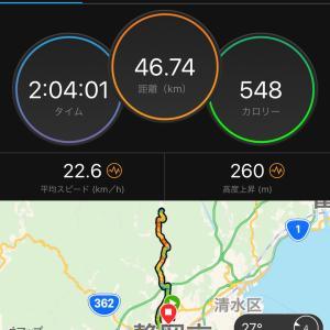 朝ラン&サイクリング