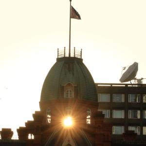 令和元年9月 旧北海道庁赤レンガの夕陽
