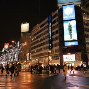 令和元年12 夜の街(札幌市すすきの界隈)