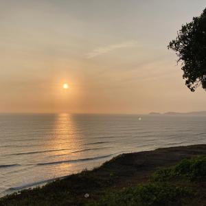 ペルー★絶景★太平洋に沈む夕陽