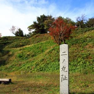 春日山城跡の紅葉
