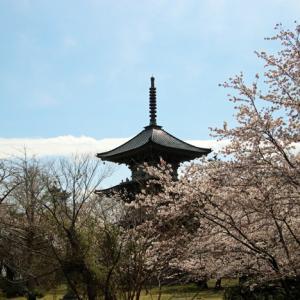 五智国分寺の三重の塔