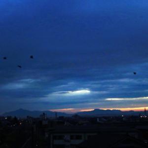 日の出が近い