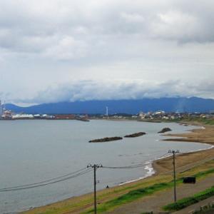 今日の直江津海岸