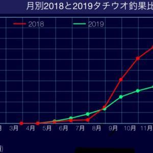 『タチウオ2019シーズンまとめ』