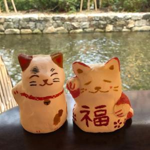 粘土アート★令和元年記念 みんなが作った招き猫展