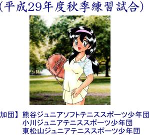 第13回鴻巣主催団体戦形式親善試合(平成29年度秋季練習試合)を開催します(^^)/