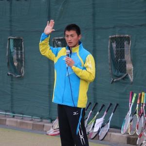 小林幸司選手(ミズノ)の講習会に参加しましたぁ(その1)