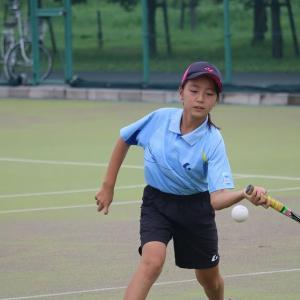 第22回鴻巣市スポーツ少年団ソフトテニス大会に参加しましたぁ