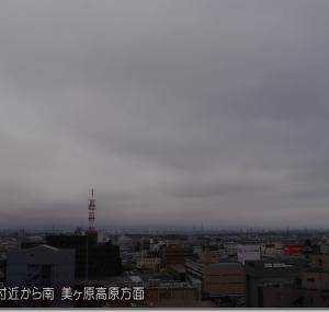 今日から週末の空模様。明日~明後日は大雨モード?(191017)