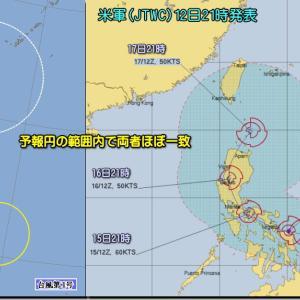 西から晴天拡大も北日本は大気の状態不安定。台風1号最新データ!(200513)