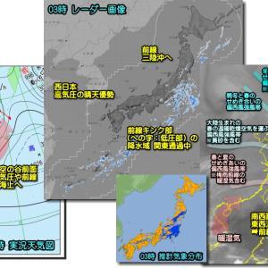 梅雨入り後の南西諸島を除いて回復傾向・・・だけど?(210506)