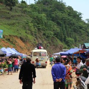 カンカンマーケット:ベトナム北部
