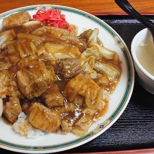 豚角煮丼が旨い~っ♪v(*'-^*)^☆