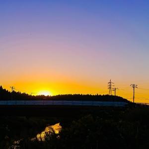 今日は、夕焼けシリーズです~っ♪v(*'-^*)^☆