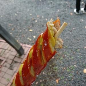 江別の神社秋祭り 『錦山天満宮例大祭』でフランクフルト