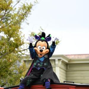 """スプーキー""""Boo!""""パレードを見納め出来てよかった(^^♪"""