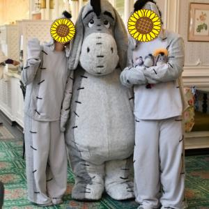 クリスタルパレス・レストラン ディズニーキャラクターブレックファスト本当に本当にありがとう(*^-^*)