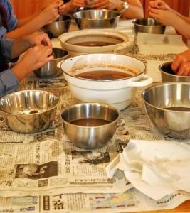 パフェを楽しむ会&渋皮煮の会