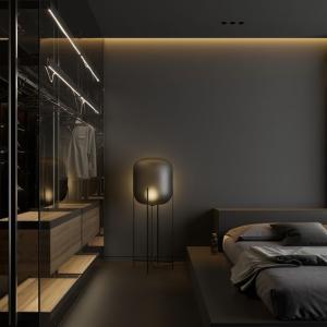 ベッドルームのサイド的ライティング