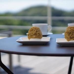 開放感たっぷり!鎌倉の絶景テラスカフェで楽しむ限定&絶品モンブラン