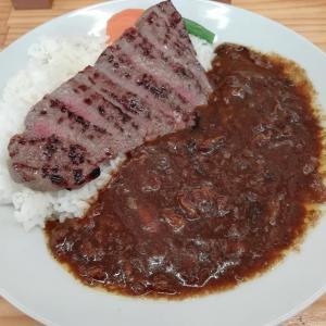 またまた柳川黄金博多和牛カレー(ステーキのせ)~清柳食産
