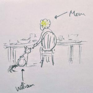 ウィリアムと義母。