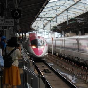 ハローキティ新幹線に乗ってきました。