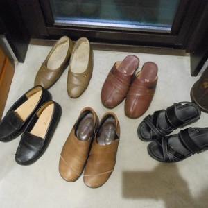 母の靴を処分