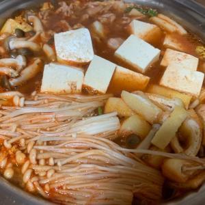 キムチ鍋〜