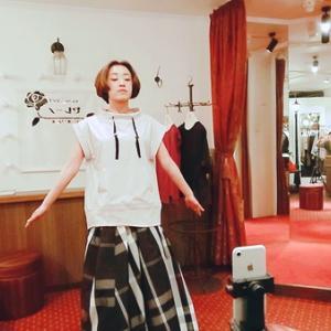 参加型インスタライブでフワ甘のモトキスカートご紹介しました