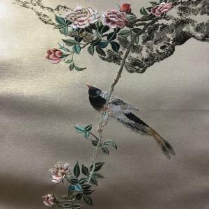 江戸刺繍袋帯