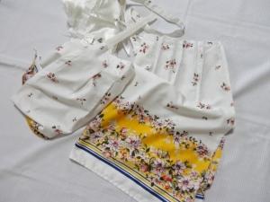 年賀はがきを買ってきた★孫のスカートを手提げに