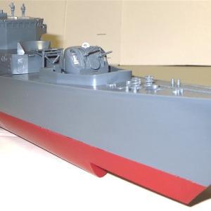 1/200 護衛艦あさぐも 素組無塗装製作記2 ニチモ