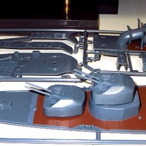 1/200 日本模型 初月 素組塗装製作記5 艦橋のみ