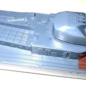 1/200 日本模型 初月 素組塗装製作記7 後部構造物基部のみ